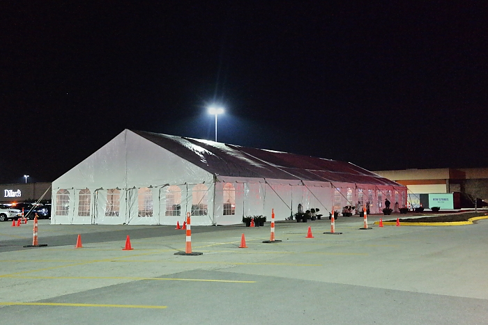 50'X140' Clearspan Tent