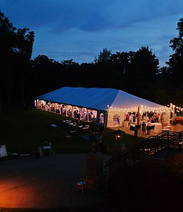 Frame tents 10',15',20',30' or 40' Wide